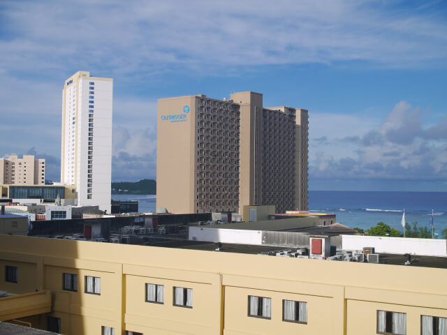 グアム・プラザホテル ベランダからの風景画像