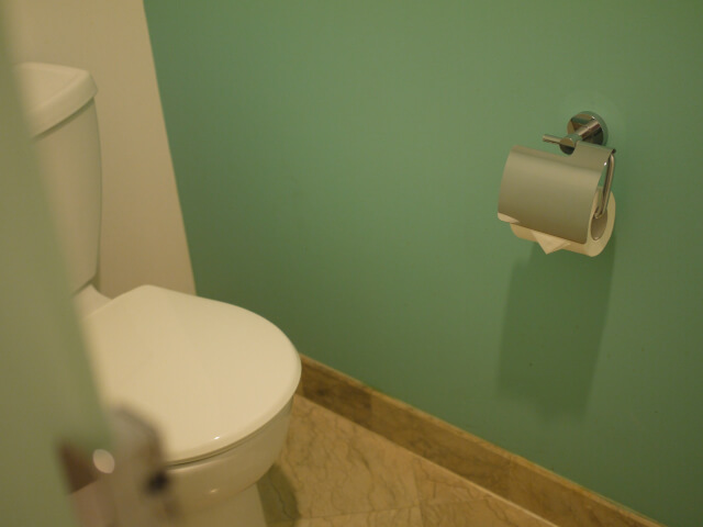 グアム・プラザホテル トイレ画像