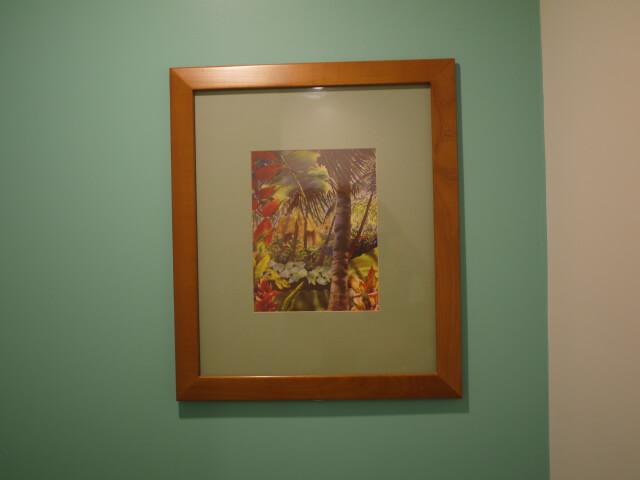 グアム・プラザホテル トイレの壁画