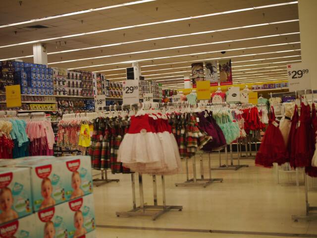 Kマート店内画像
