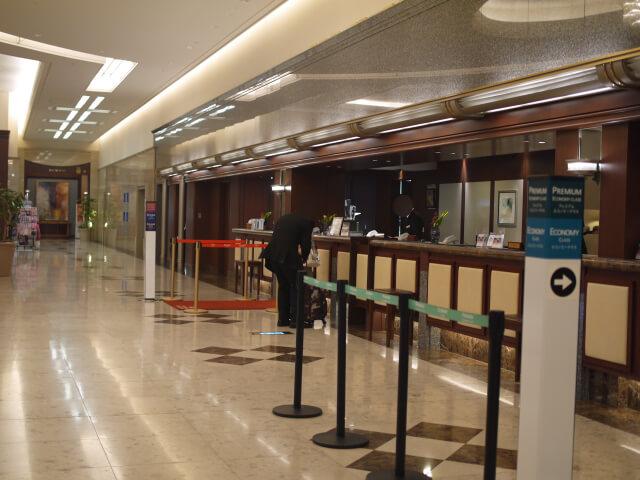 ホテル日航関西空港フロント画像
