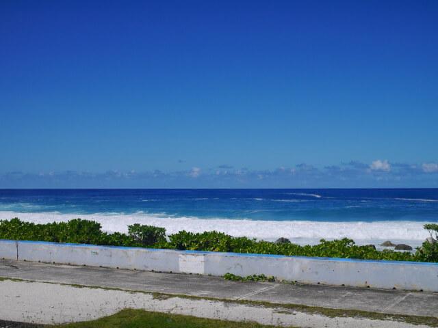 海岸沿いの景色