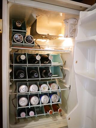 白浜温泉むさし 冷蔵庫画像