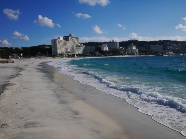 白良浜ビーチ画像