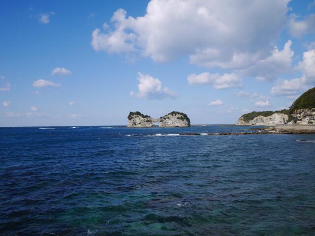 円月島画像