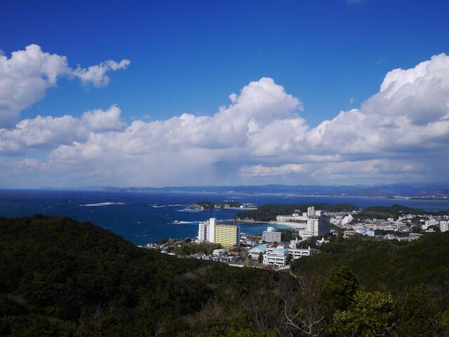 平草原展望台から撮影した風景画像