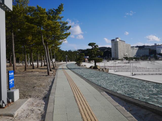 白良浜散歩道画像