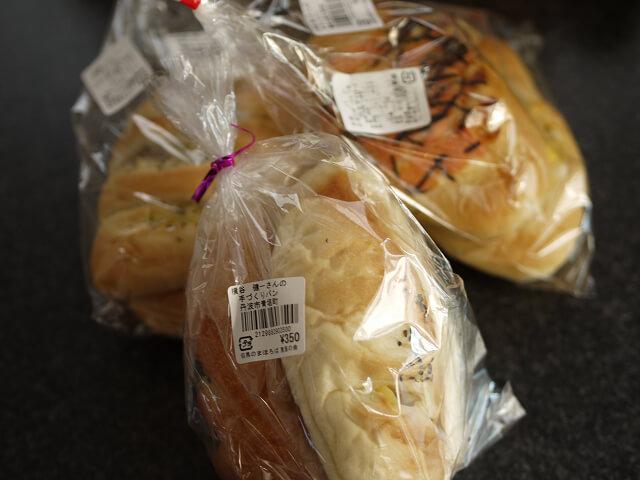 手作りパンコーナーで購入したパン画像