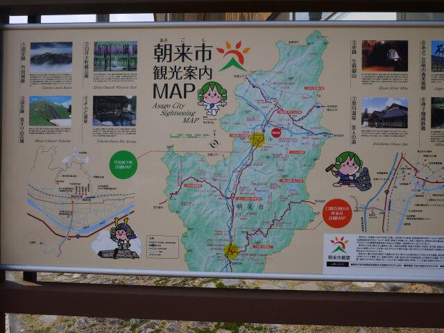 朝来市マップ画像