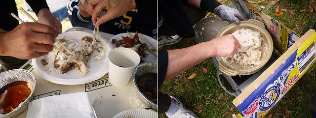 鯛めしの調理過程画像