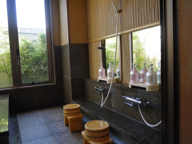 キャッスルイン玉垣 亀の湯洗い場画像