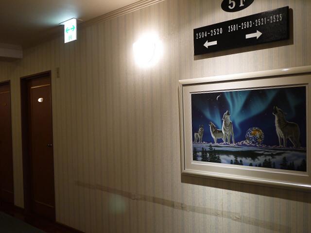キャッスルイン玉垣 宿泊棟のフロア画像