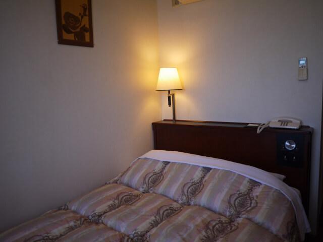 キャッスルイン玉垣 120cm幅のベッド画像