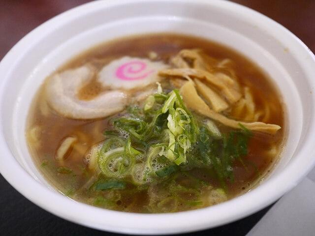 宮濱軒で食べたラーメン画像