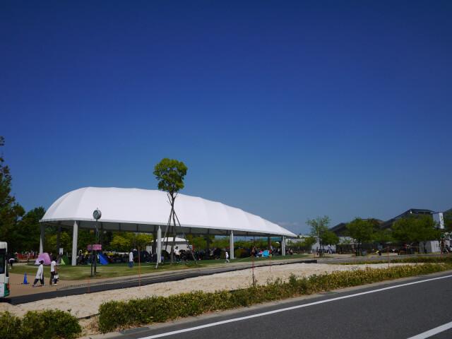 テント広場画像