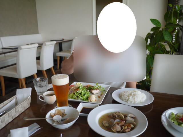 レストランBarley(バーリィ)での食事画像