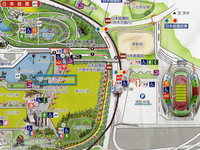 園内マップ画像