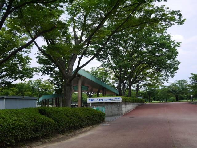 万博記念公園バーベキューコーナー 入り口画像