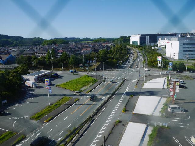 ホテルエコノ多気 窓からの眺め画像