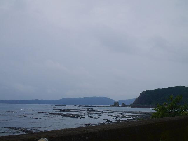 熊野街道 串本の海岸沿い画像