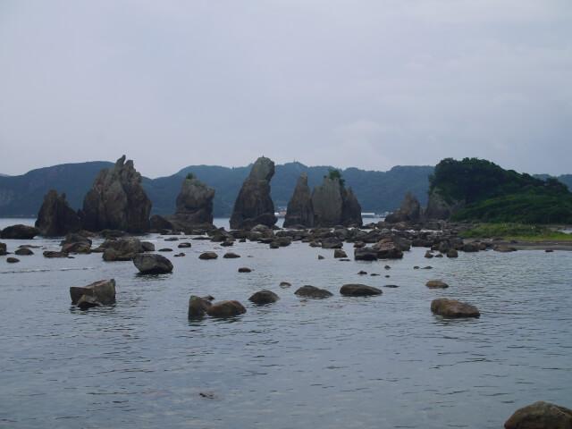 橋杭岩の画像