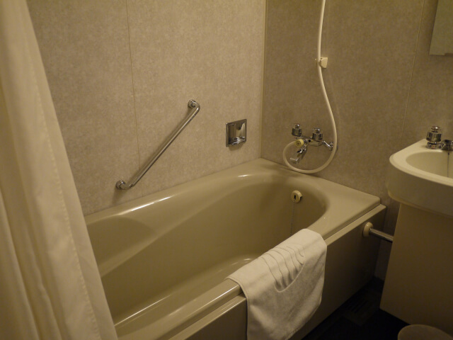 和歌山マリーナシティホテル バスタブ画像