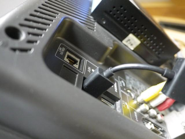 テレビのHDMI端子画像