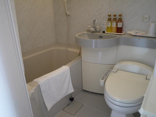 ホテルキャッスルイン津 トイレ&バスルーム画像