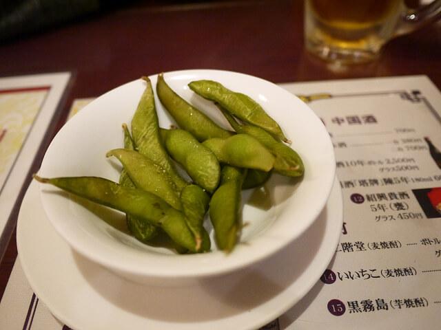 中国食彩渓泉 付き出し画像