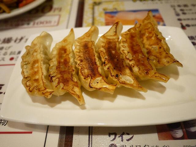 中国食彩渓泉 焼き餃子画像