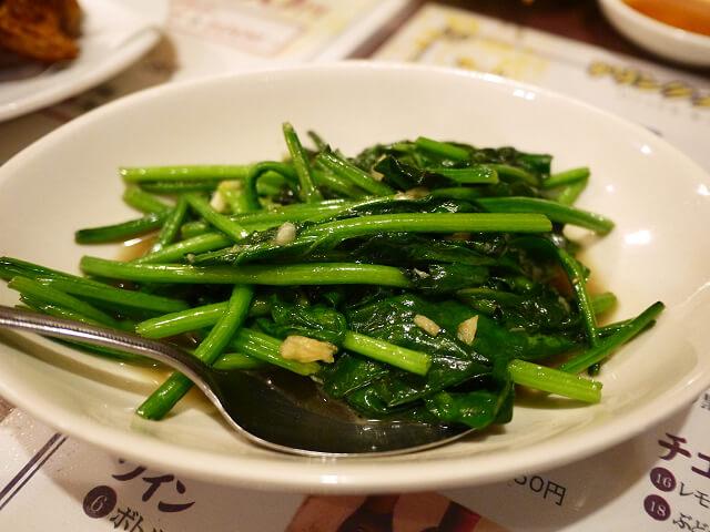 中国食彩渓泉 青菜炒め画像
