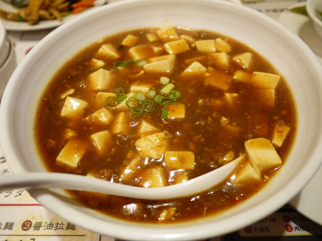 中国食彩渓泉 麻婆ラーメン画像