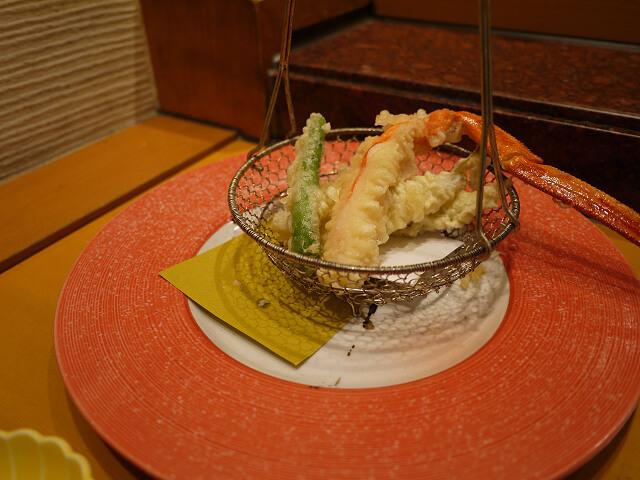 音羽茶屋新伊丹店 寿司コース 天ぷら画像