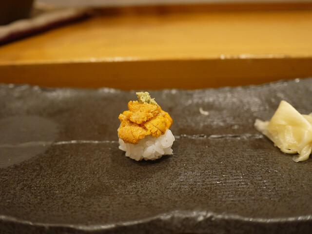 音羽茶屋新伊丹店 寿司コース ウに画像