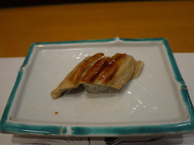 音羽茶屋新伊丹店 寿司コース アナゴ画像