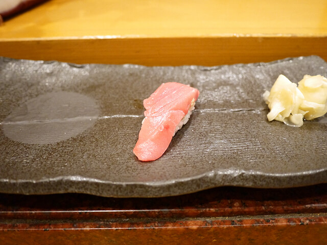 音羽茶屋新伊丹店 寿司コース トロ画像