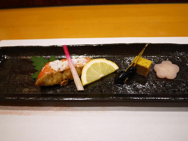 音羽茶屋新伊丹店 寿司コース焼き物画像