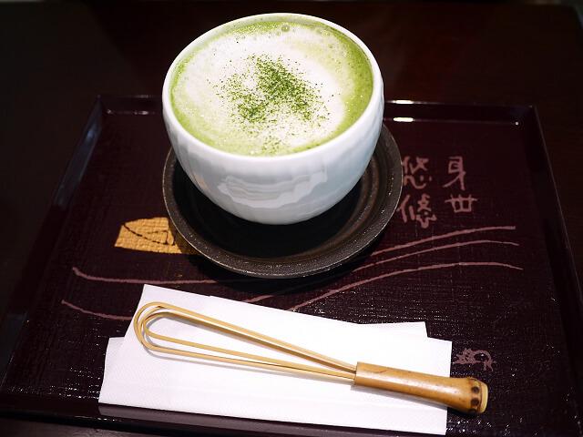 喫茶去 阪急三番街店 抹茶ラテ画像
