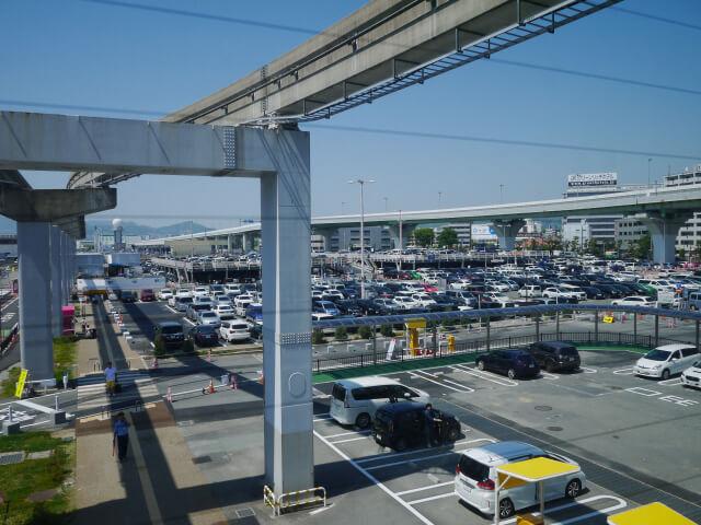 伊丹空港駐車場画像