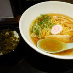 伊丹空港 麺や蒼園の絶品中華そば。