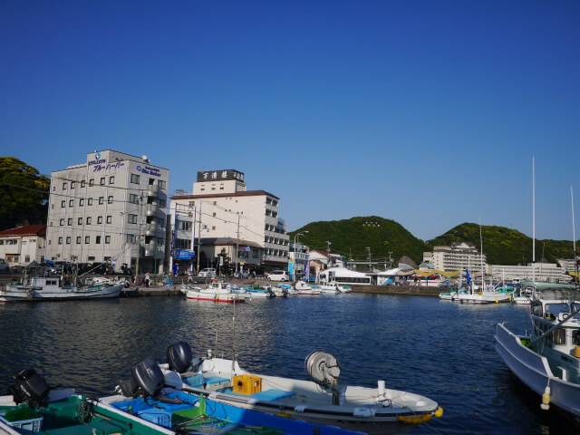 勝浦港画像