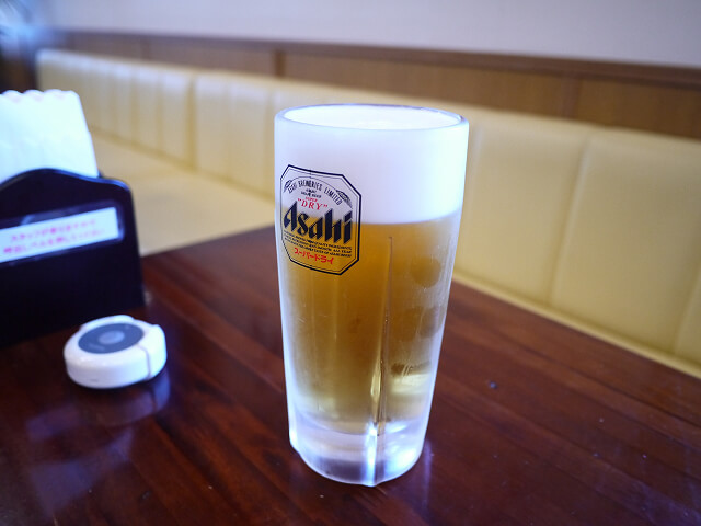 ホテル&レンタカー660 レストランで注文したドリンク画像