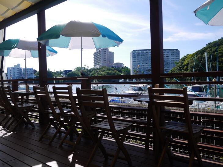 Kagerou Cafe(かげろうカフェ) テラス席画像