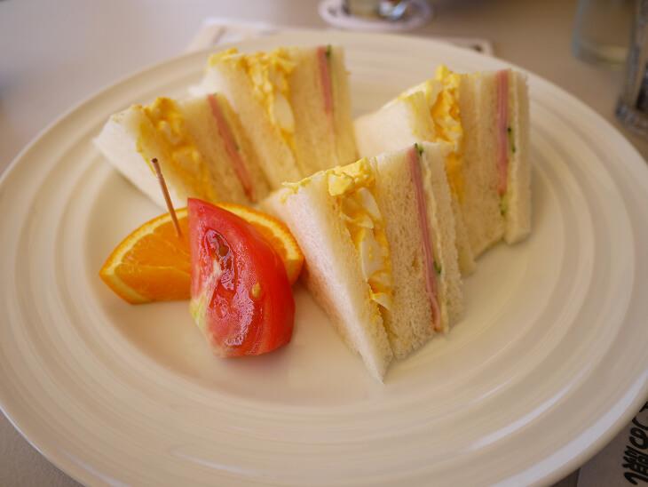 Kagerou Cafe(かげろうカフェ) モーニングサンドイッチ画像