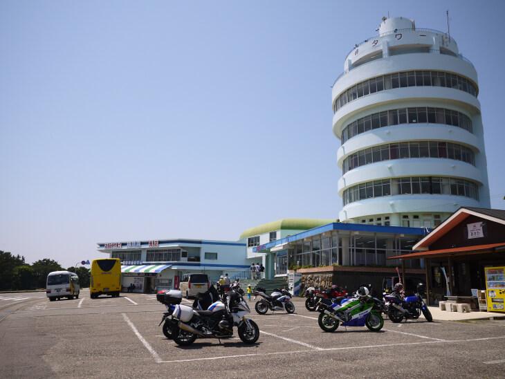 潮岬駐車場画像