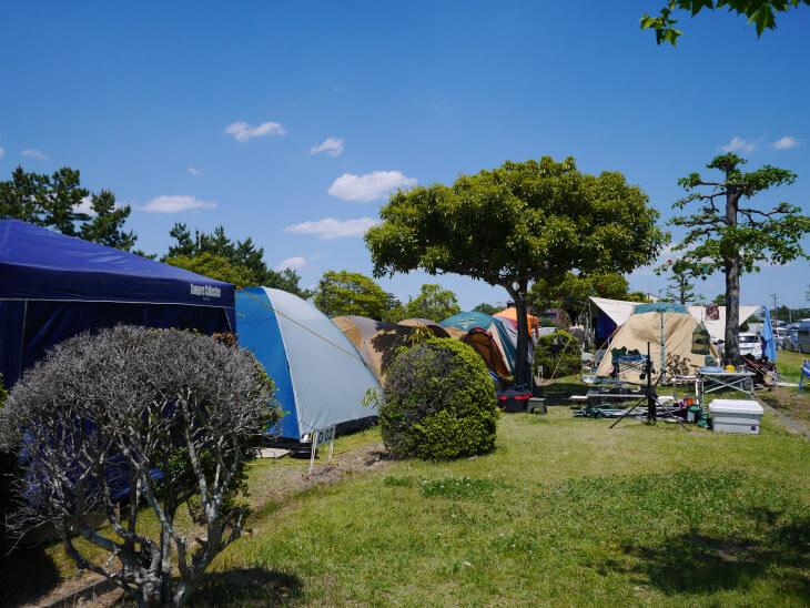 静波キャンプグランド施設内画像