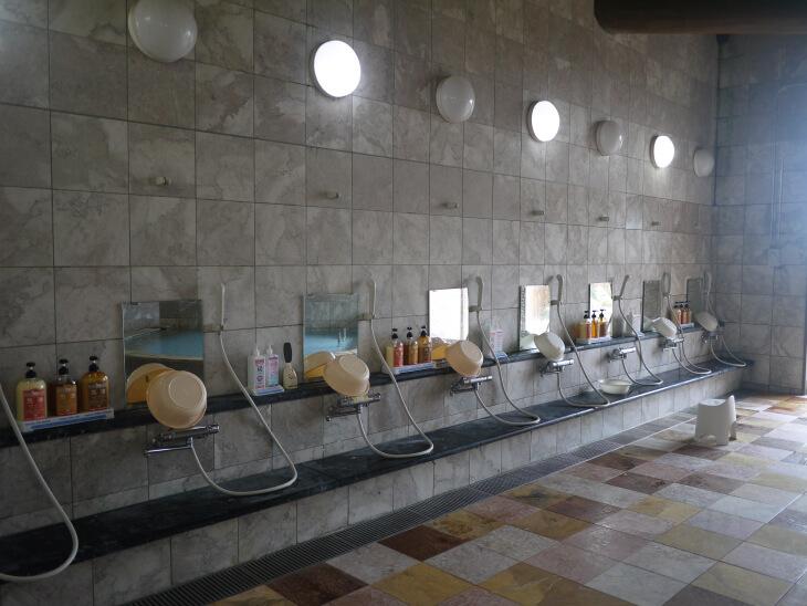 四季の郷 遊楽 郷の湯 洗い場画像
