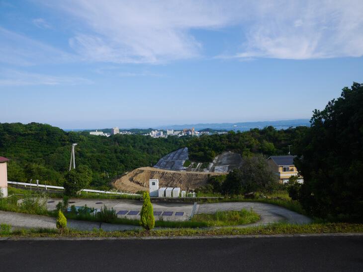 四季の郷 遊楽 敷地内から撮影した風景画像