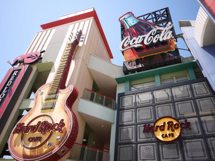 ハードロックカフェ ユニバーサル・シティウォーク大阪外観画像
