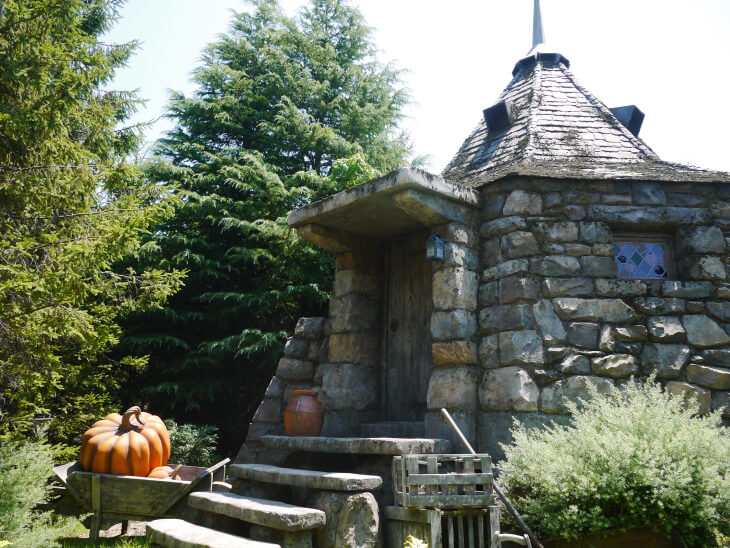 ハグリットの小屋画像